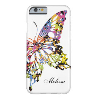 Kleur Bespatte iPhone 6 van de Vlinder hoesje