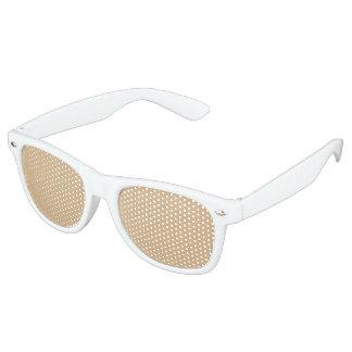 kleur burlywood retro zonnebril