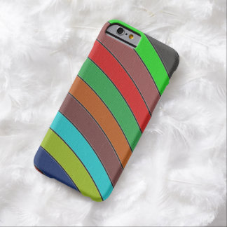 Kleur Sripes Barely There iPhone 6 Hoesje