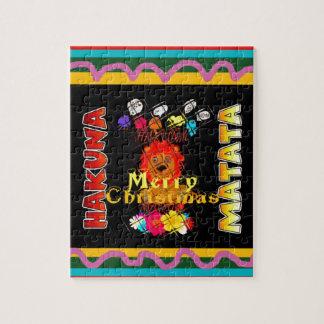 Kleur van het Seizoen van de Vakantie van Kerstmis Puzzels