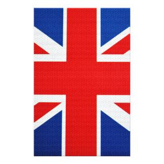 Kleuren van de Baksteen van Engeland Persoonlijk Briefpapier