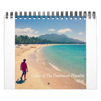 Kleuren van de Dominicaanse Republiek Kalender