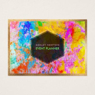 Kleuren van de Melkweg/van het Neon van PixDezines Visitekaartjes