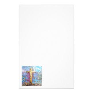 Kleuren van het Kruis Briefpapier