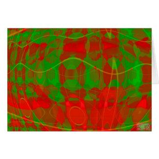 Kleuren van Kerstmis II Kaart