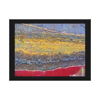 Kleuren van Rust_729, roest-Kunst Canvas Afdruk