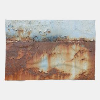 Kleuren van Rust_756, roest-Kunst 2.5 Theedoek