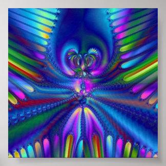 Kleuren van Uw Mening Poster