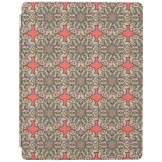 Kleurrijk abstract etnisch bloemenmandalapatroon iPad cover