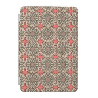 Kleurrijk abstract etnisch bloemenmandalapatroon iPad mini cover