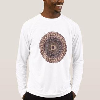 Kleurrijk abstract etnisch bloemenmandalapatroon t shirt
