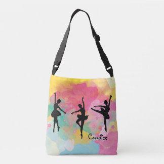Kleurrijk Ballet helemaal over het Bolsa van de Crossbody Tas
