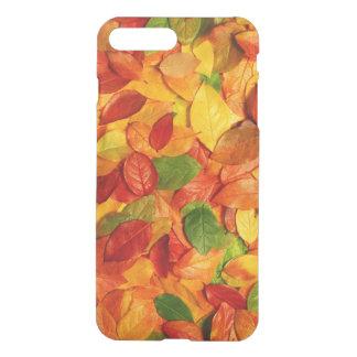 kleurrijk bladeren vectorart. iPhone 7 plus hoesje