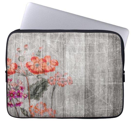Kleurrijk BloemenOntwerp Laptop Sleeve
