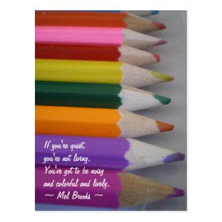 Kleurrijk Briefkaart