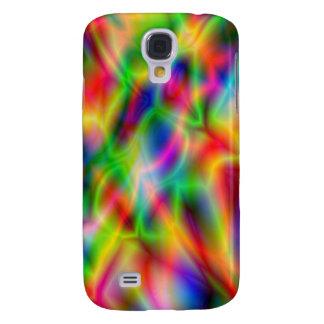 Kleurrijk de hoesje-Partner HTC van de Abstractie  Galaxy S4 Hoesje