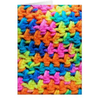 Kleurrijk Garen Briefkaarten 0