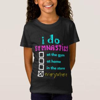Kleurrijk - ik doe overal Gymnastiek T Shirt