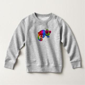 Kleurrijk Kameleon met het Sweatshirt van de Dag