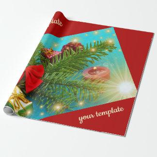 kleurrijk Kerstmis uniek, glanzend Verpakkend Cadeaupapier