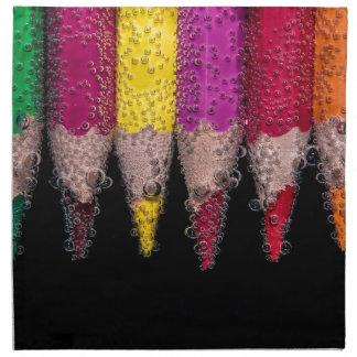 Kleurrijk Logo Katoenen Servet