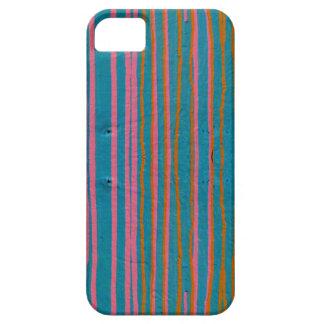 Kleurrijk mobiel geval barely there iPhone 5 hoesje