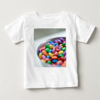 kleurrijk snoep baby t shirts