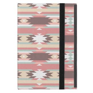 Kleurrijk Stammen Azteeks Patroon iPad Mini Hoesje