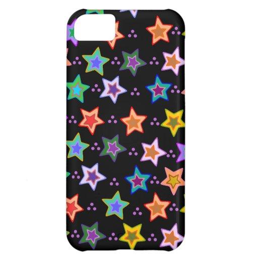 Kleurrijk sterpatroon iPhone 5C cases