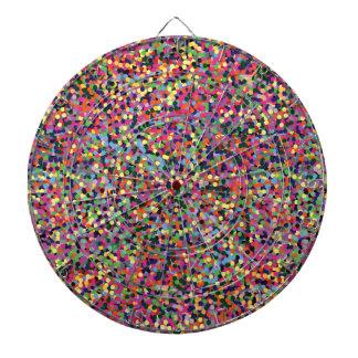 Kleurrijk Stip Dartbord
