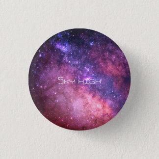 kleurrijk themed knoop ronde button 3,2 cm