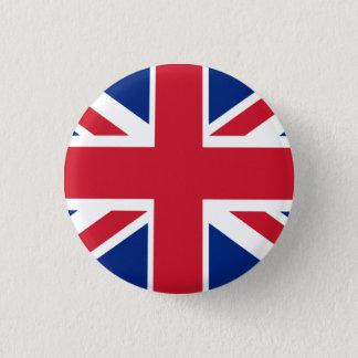 Kleurrijk Union Jack Ronde Button 3,2 Cm