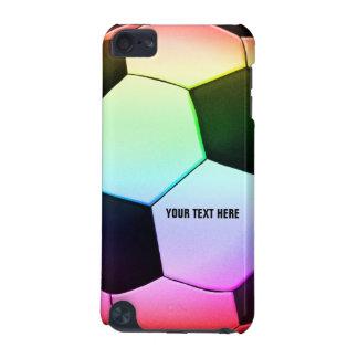 Kleurrijke Bal   van het Voetbal Koele Gift Girly iPod Touch 5G Hoesje