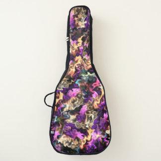 kleurrijke bolaad gitaartassen