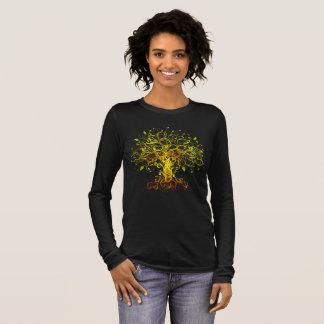 Kleurrijke boom van het Leven T Shirts