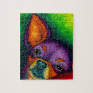 Kleurrijke Chihuahua Puzzel