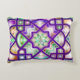 Kleurrijke Chromatische Geometrische Vormen Decoratief Kussen