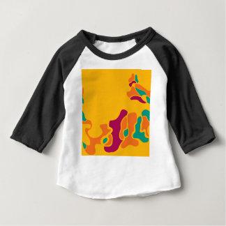 Kleurrijke creativiteit baby t shirts