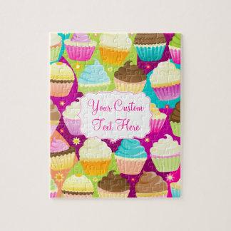 Kleurrijke Cupcakes Puzzel