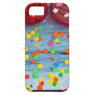 kleurrijke cupcakes tough iPhone 5 hoesje