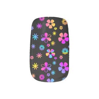 Kleurrijke Daisy: Retro Minx Spijkers Minx Nail Folie