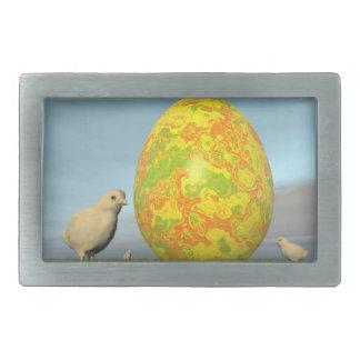 Kleurrijke eieren voor 3D Pasen - geef terug Gespen