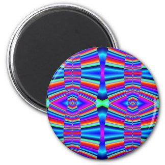 Kleurrijke fractal magneet