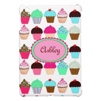 Kleurrijke Gepersonaliseerde Cupcakes - iPad Mini Hoesje