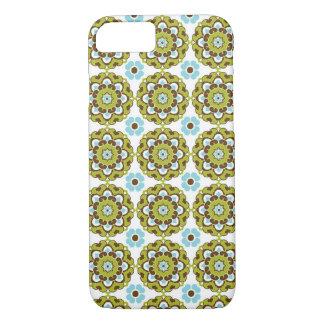Kleurrijke Groene Bruine Blauwe iPhone 7 van het iPhone 8/7 Hoesje