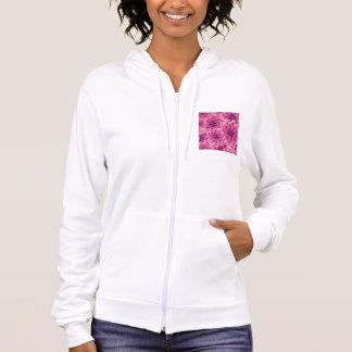 Kleurrijke het patroon paarse dahlia van de zomer hoodie