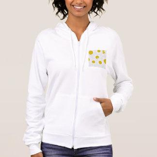 Kleurrijke het patroon paarse margriet van de hoodie