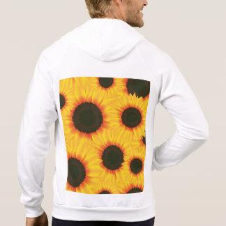 Kleurrijke het patroonzonnebloem van de lente sweater