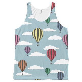 Kleurrijke hete luchtballons All-Over-Print tank top