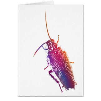 Kleurrijke Kakkerlak Kaart